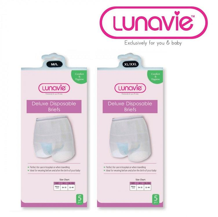 Lunavie Disposable Maternity Panties 5-Piece Pack (L1020)