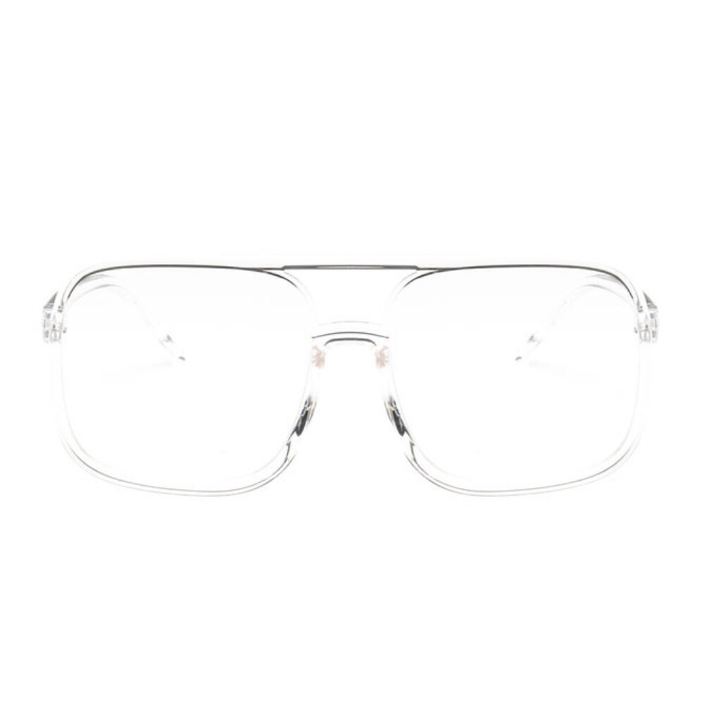 Lunet Oversized Square Shaped Clear (end 10/7/2020 2:45 PM)