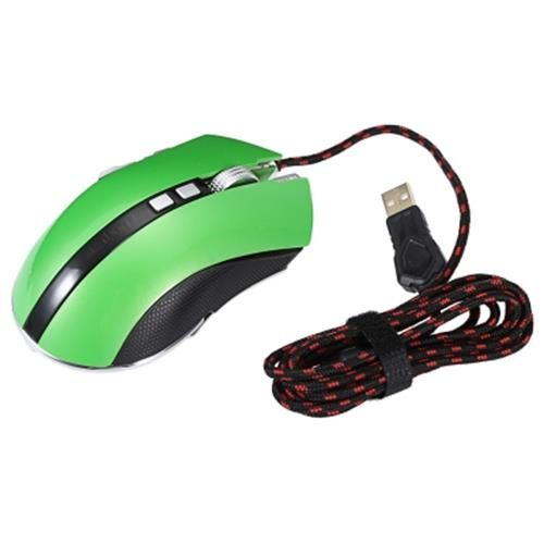 LUOM G60 PROFESSIONAL USB WIRED QUICK MOVING LED LIGHT GAMING MOUSE GAME PERIP