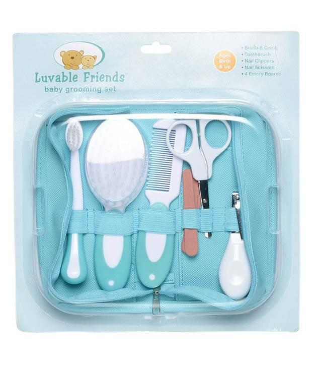 Luvable Friends - Baby Grooming Set 6pc