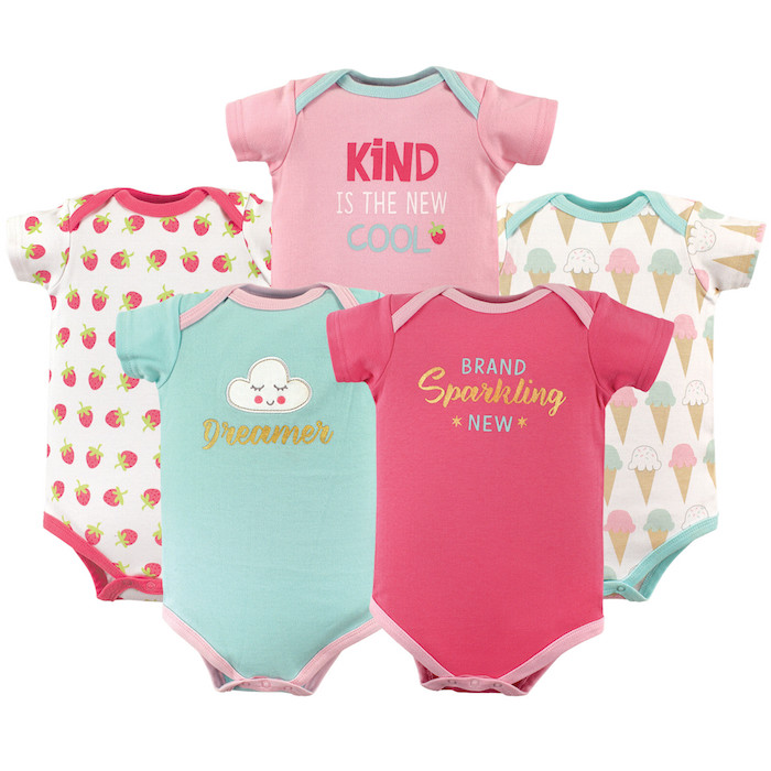 79308e044 Luvable Friends Basics Bodysuits 5 P (end 8 28 2020 4 46 PM)
