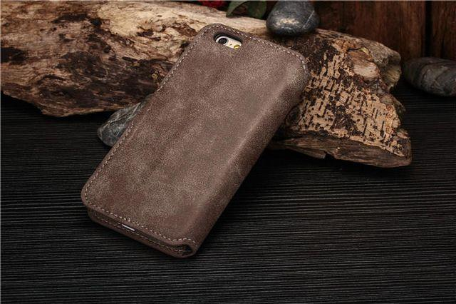 luxury dark brown iphone 6/6s  case with card slot