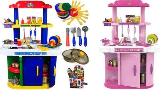 Luxury Double Sized Kitchen Playset W (end 4/8/2020 1:15 AM)