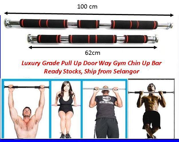 Luxury Grade Pull Up Door Way Gym Chin Up Bar Doorway Fitness. u2039 u203a  sc 1 st  Lelong.my & Luxury Grade Pull Up Door Way Gym C (end 2/28/2019 12:19 AM)