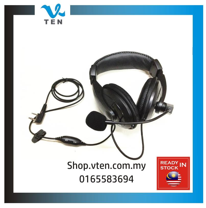Luxury Headset Earphone For KENWOOD/BAOFENG/TYT FonKepala WalkieTalkie