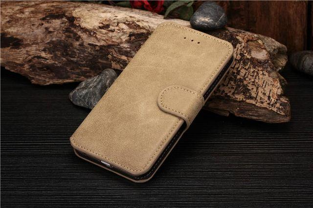 luxury light brown iphone 6/6s  case with card slot
