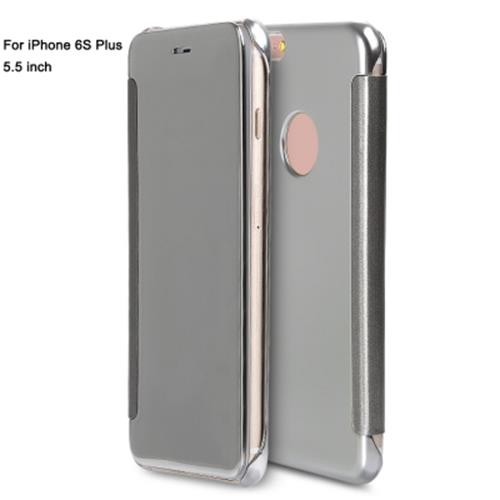 innovative design 48fb2 ab17b LUXURY MIRROR FLIP COVER HARD PC CASE FOR IPHONE 6S PLUS 5.5 INCH (SIL