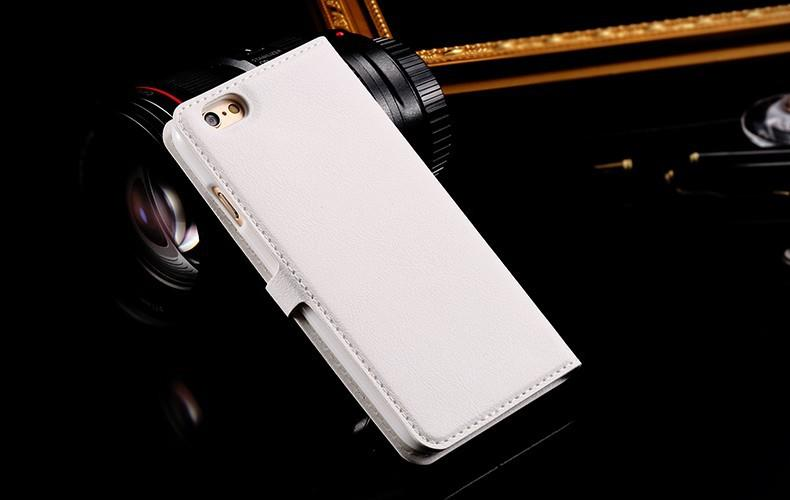 luxury white iphone 6/6s case with card slot