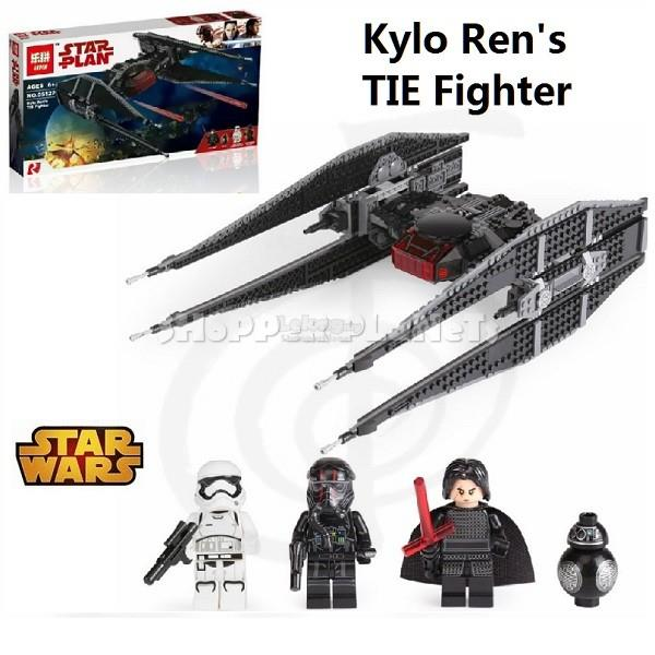 Lxpxn Compatible Brick Star Wars Kylo Ren's Tie Fighter 05127
