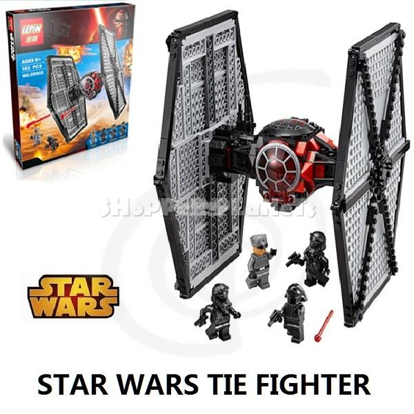 Lxpxn Compatible Brick Star Wars Tie Fighter 05005