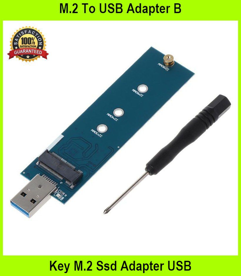 M.2 To USB Adapter B Key M.2 Ssd Adapter USB 3.0 To 2280 M2 Ngff Ssd D