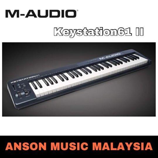 M-Audio Keystation61 II 61-Key MIDI Controller