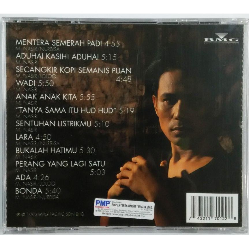 M NASIR Canggung Mendonan Music CD