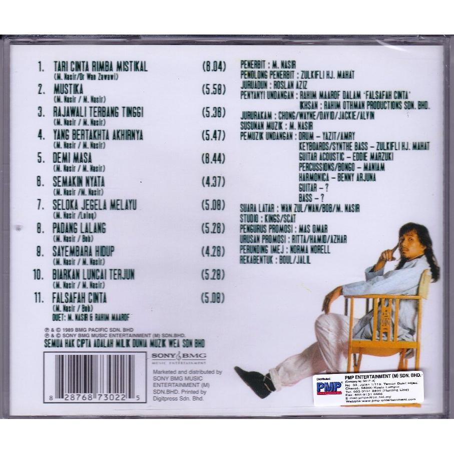 M NASIR Solo Music CD