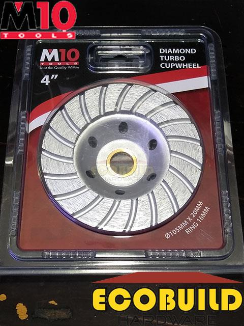 M10 4' Diamond Turbo Cupwheel