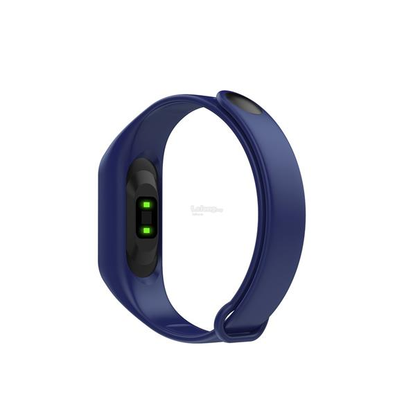 M3 Blue Smart Bracelet Heart Rate Blood Pressure Monitor Sports Pedome