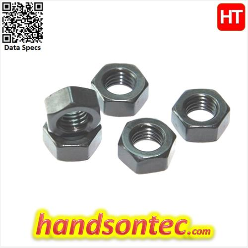 M6 Metric Hex Nut Carbon Steel - 10pcs