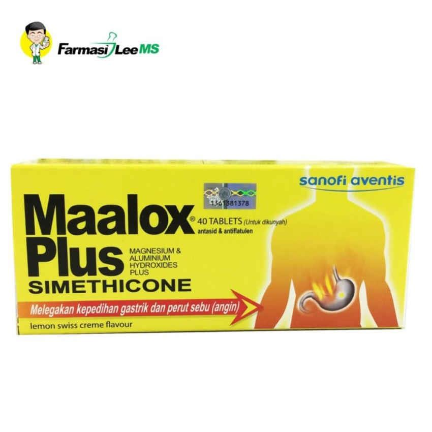 how to take maalox tablet