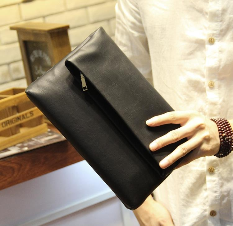 MABLE FASHION Korean Large Capacity Men Clutch Handbag 6729 (P)
