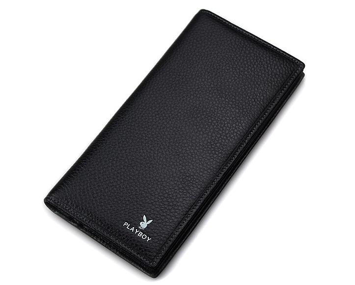 MABLE FASHION PLAYBOY Men Casual Leather Long Section Wallet