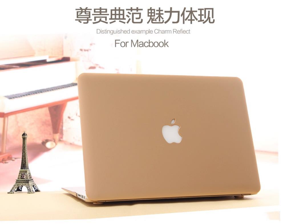 MacBook Air 11.6 13.3 Pro Retina Matte Case Cover + Keyboard Protector