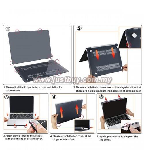 various colors e4ea2 3cddb Macbook Air Retina 13 Inch A1932 Matte Hard Cover Case - White