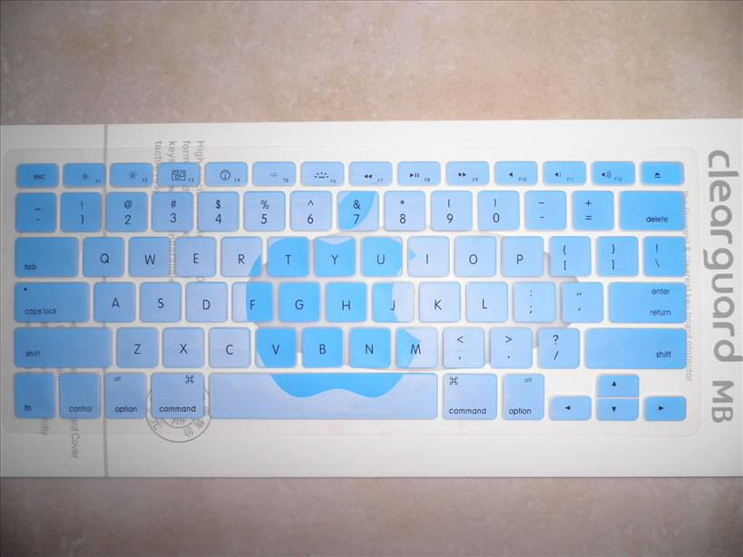 MacBook Pro Keyboard Protector Cover ( Apple Blue )