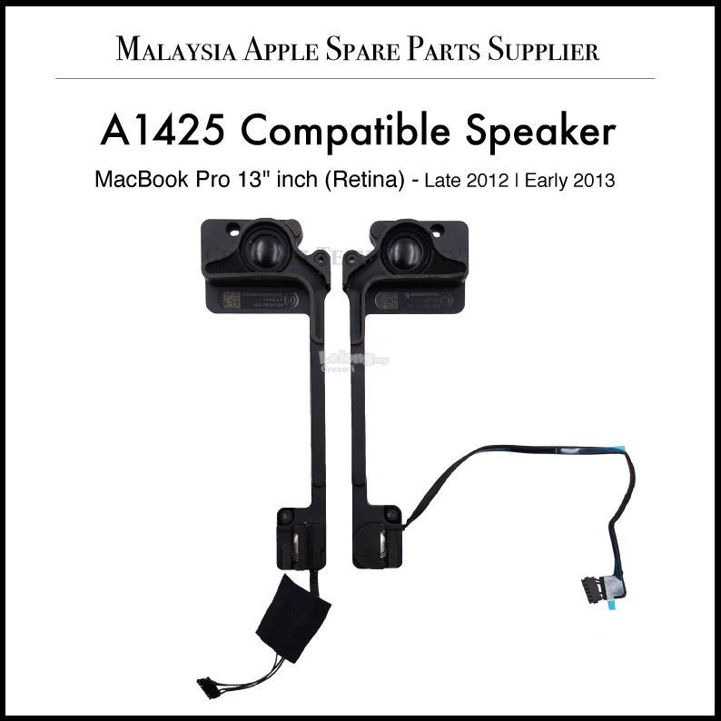 MacBook Pro Retina 13'Inch A1425 2012 2013 Compatible Speaker
