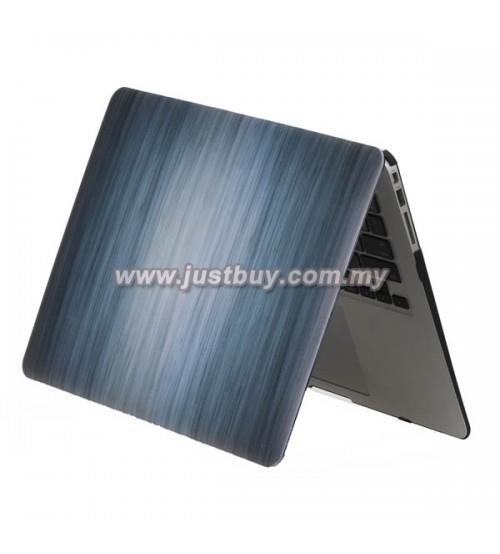 best authentic d605e 1d846 Macbook PRO Retina 13 Inch A1502/A1425 Art Case-Wood Grain Blue