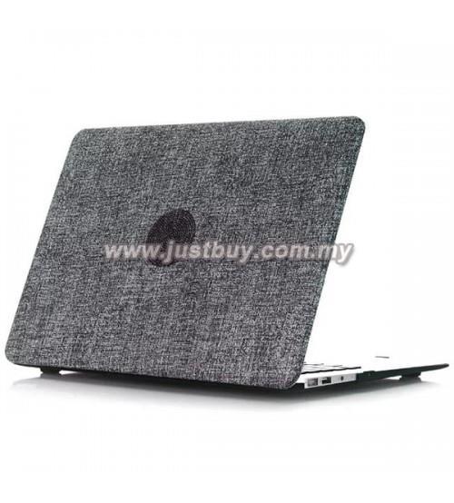 sale retailer 5ccff 163b0 Macbook PRO Retina 13 Inch A1502/A1425 Jeans Rubberized Case - Black