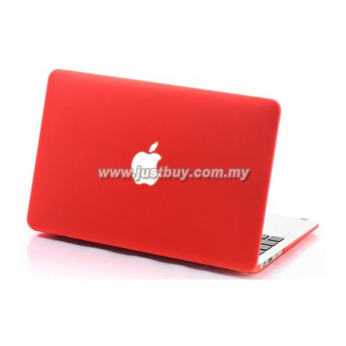 MacBook PRO Retina 15 inch Matte Hard Cover Case - Red