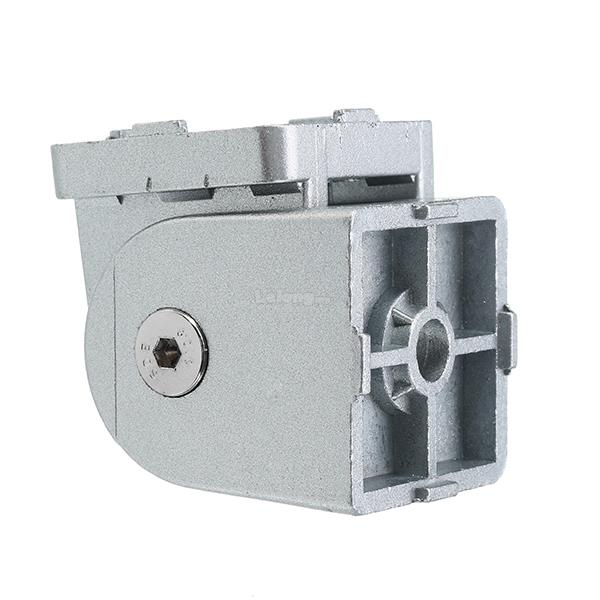 Machifit Zinc Alloy Industrial Adjustable Hinge Angle Connector for 40