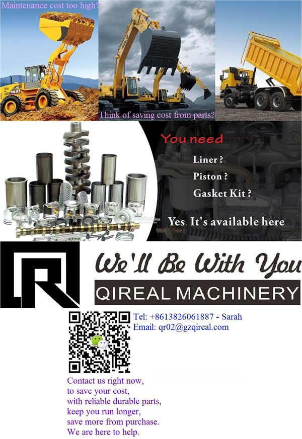 Machinery Spare Parts Excavator Machineries Cheap Lowest Quality