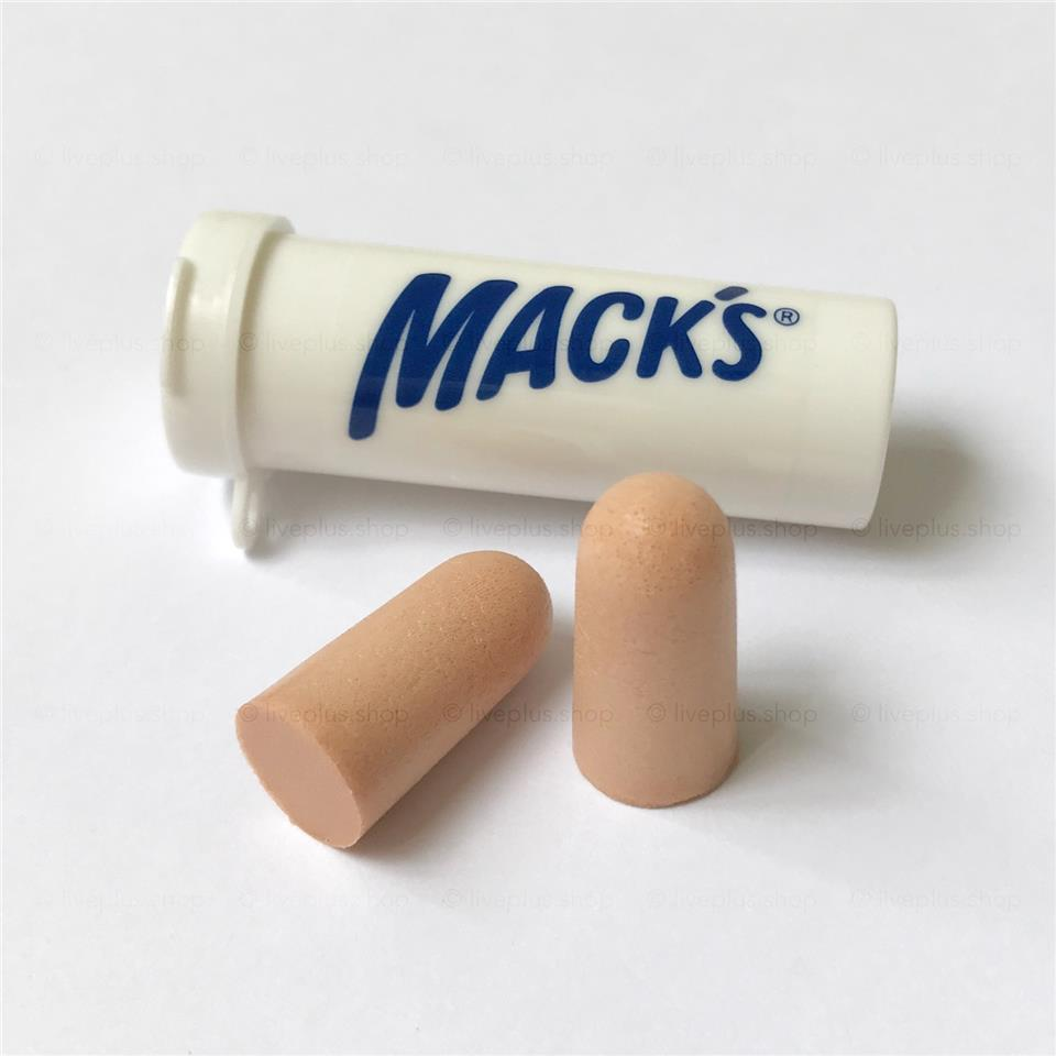 Mack's Ultra Soft Foam Earplugs, 10 Pair - USA Reusable Ear Plugs