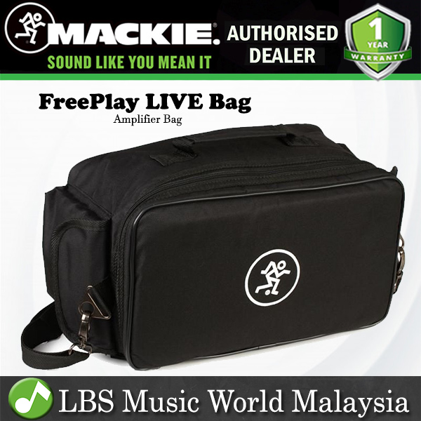 Mackie FreePlay LIVE Bluetooth Speaker Amp Amplifier Bag Portable PA