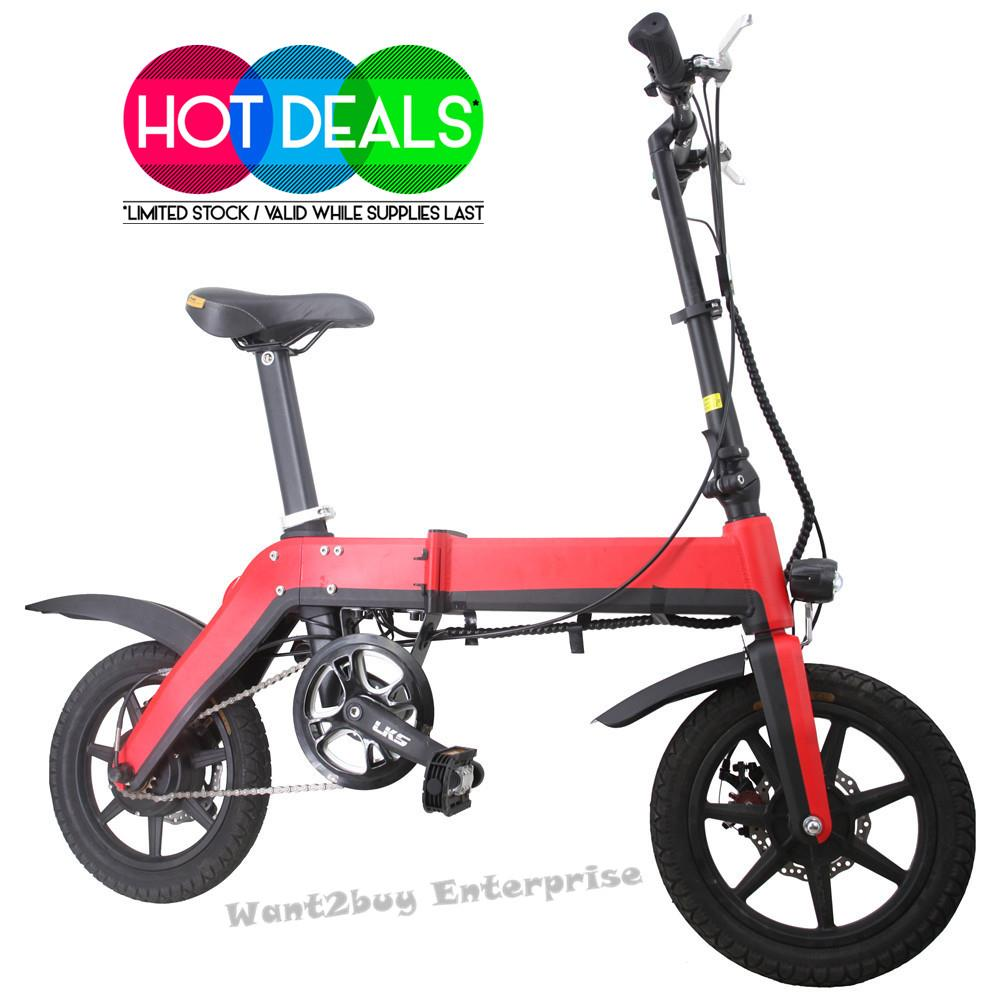Macwheel 36V 10.4AH Electric Foldable Bicycle Bike Recharge Battery