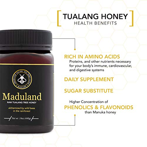 Maduland- Raw Tualang Tree Honey 14 oz