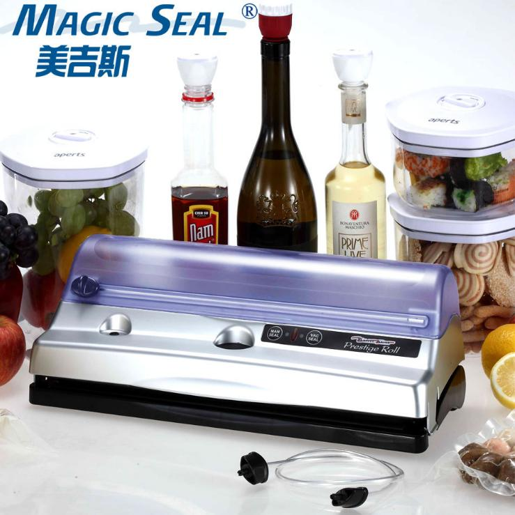 magic automatic electric vacuum food sealer packaging machine with bag - Vacuum Food Sealer