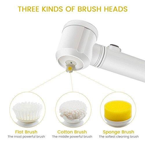 MAGIC BRUSH 5in1 Cleaning Brush Bathroom Toilet Tub Household Kitchen