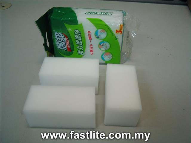 Magic cleaning sponges for household use & clean off easily after use