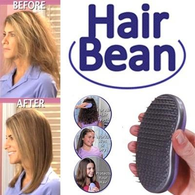 *Magic Hair Comb^ Hair Bean Professional Gently Removes Tangles