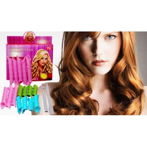 Magic Leverag Hair Styling Roller Curlers