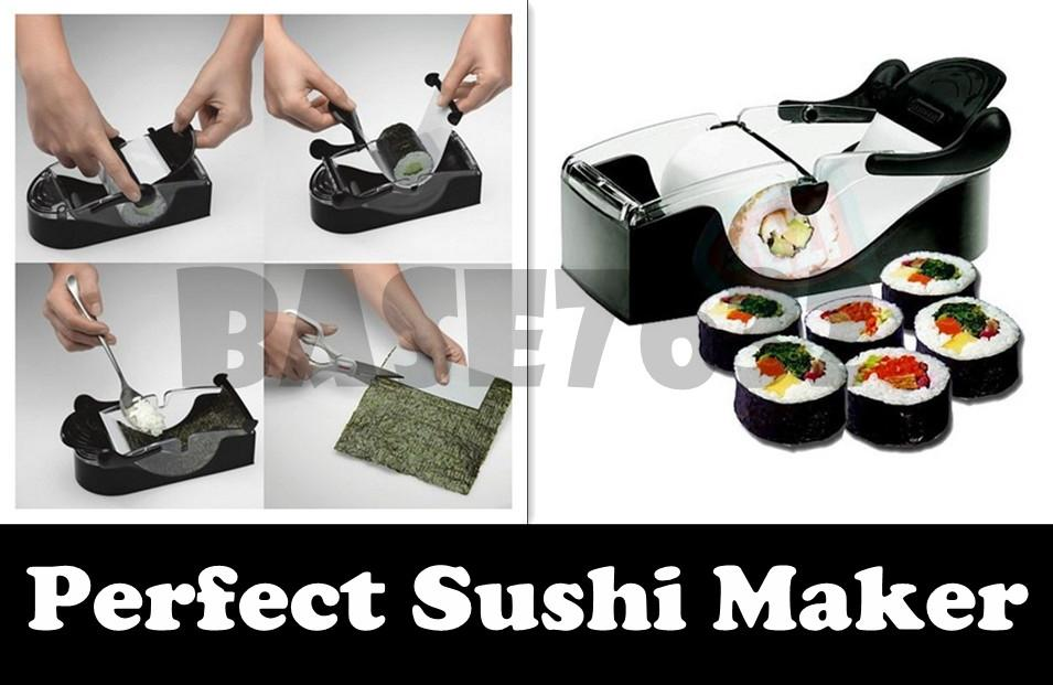Magic  Perfect Sushi Making  Maker Roll Device Machine Roller