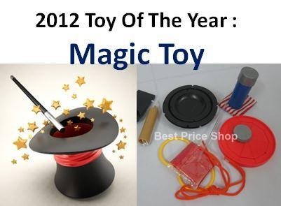 Magic Set  (M) - Best Toy 2012 - Become a Magician in 5 mins with DVD