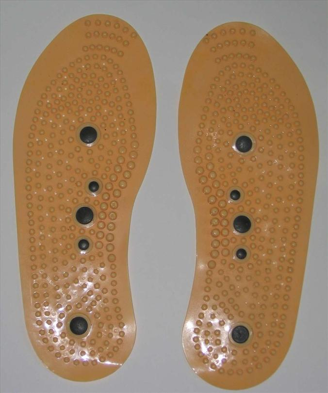 *Magna Power Magnetic Massage^Insoles 10 Magnets Health Therapeutic