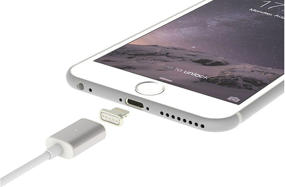 Magnet USB Data Cable For iPhone 5 5s 6 6S iPad mini iPad air Magnetic