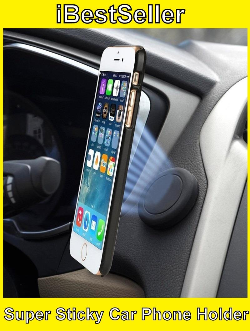 Magnetic Car Phone Holder 360 Rotation Mobile Car Stand Car Mount