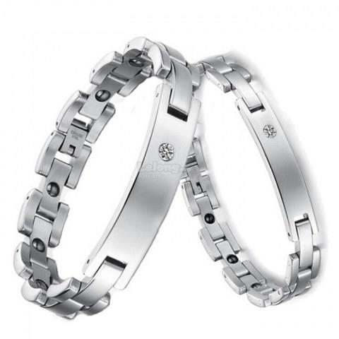 Magnetic Lovers's Titanium Steel Bracelets