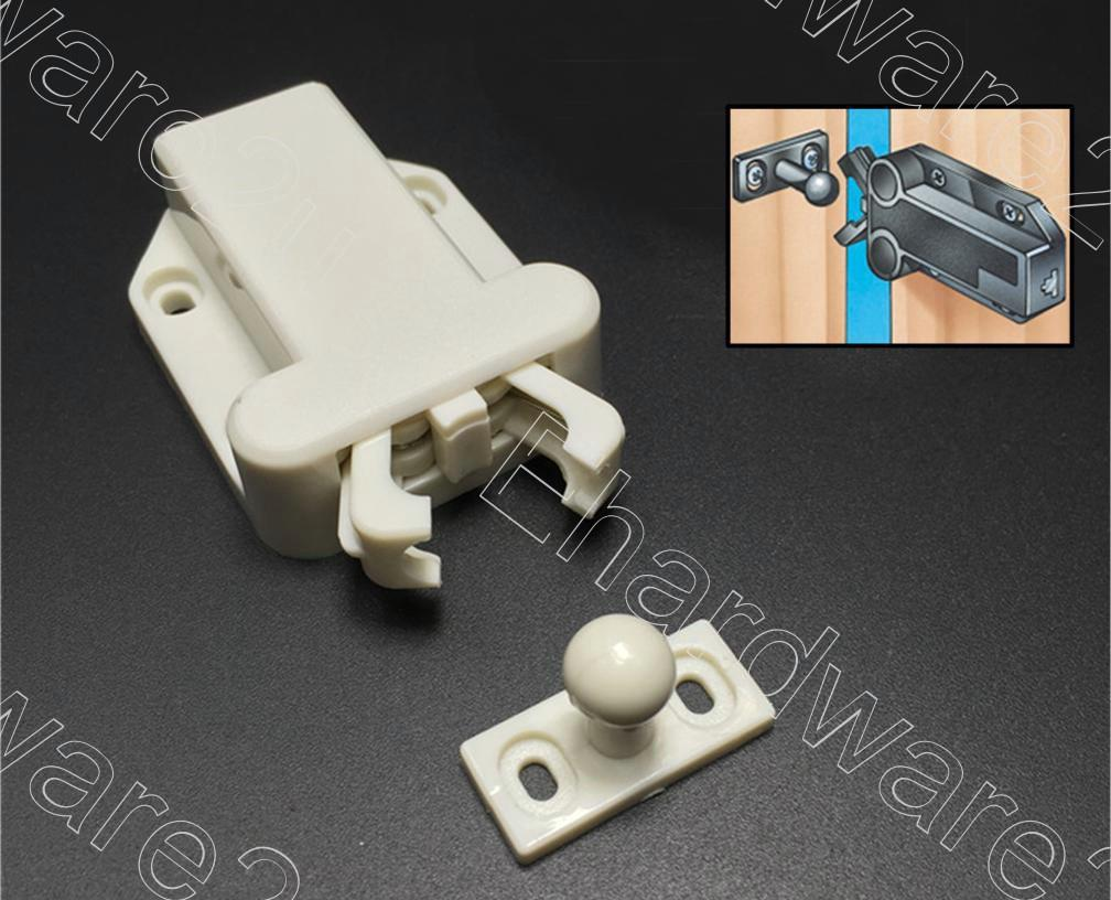 Non-Magnetic Safe Push Touch Latch Catch (NMTL55)