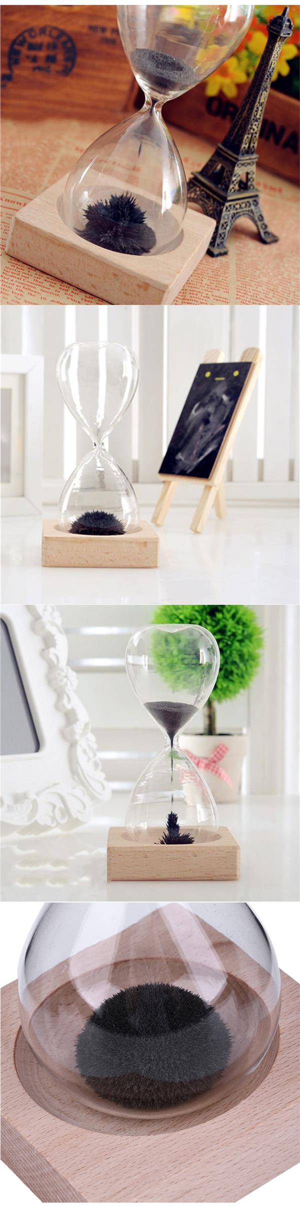 Magnetic Sand Glasses